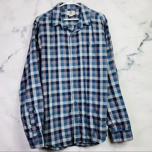 Timberland Plaid Button Down Shirt